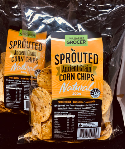 Corn Chips - Natural Ancient Sprouted