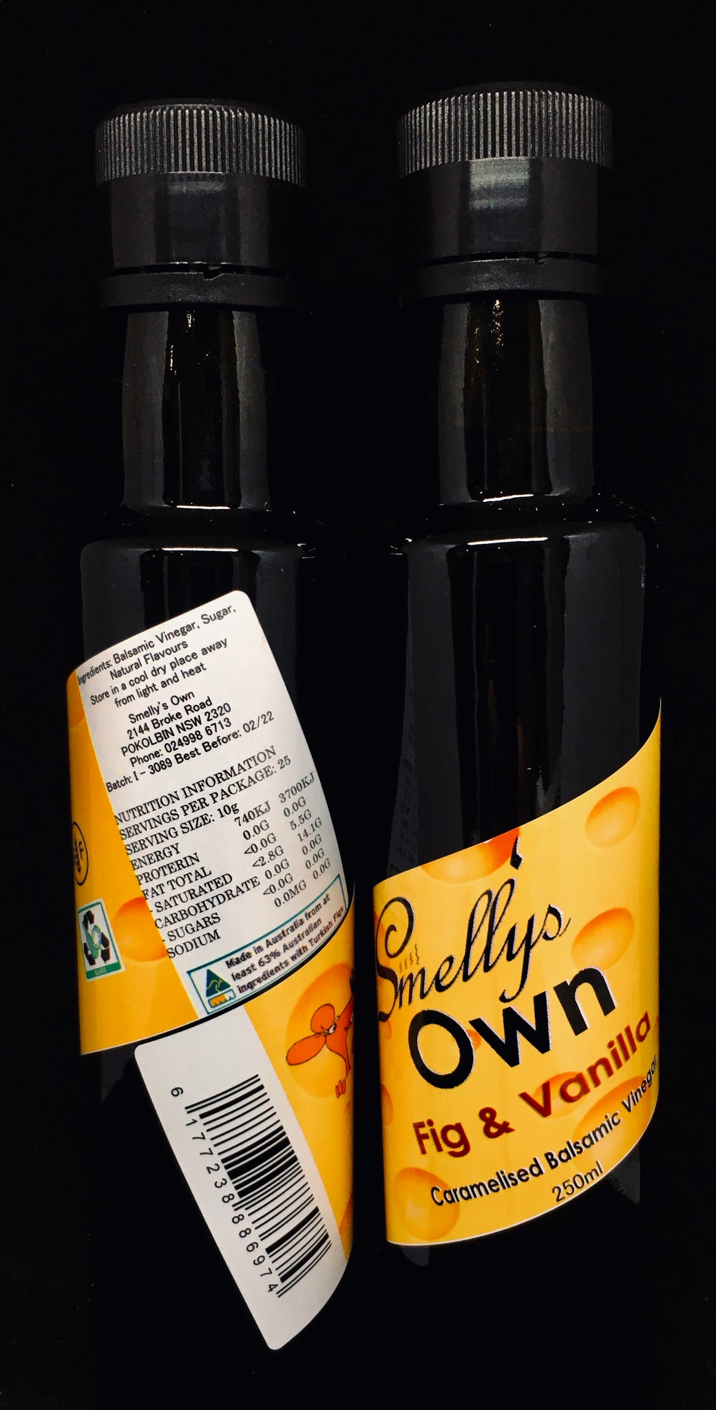Smelly's Own - Fig & Vanilla Balsamic Vinegar