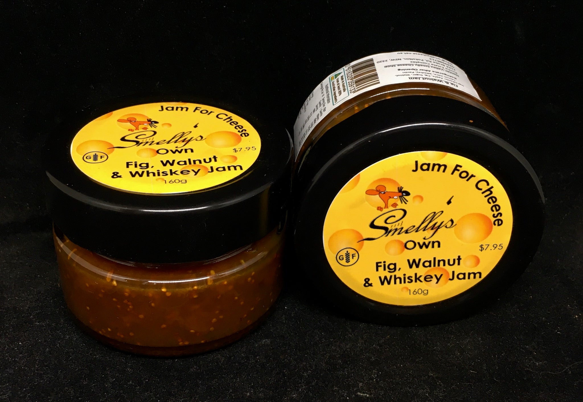 Smelly's Own - Fig, Walnut & Whisky Jam