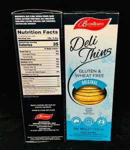 Gluten & Wheat Free Crackers - Original