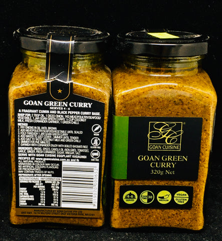Goan Cuisine - Green Curry Paste