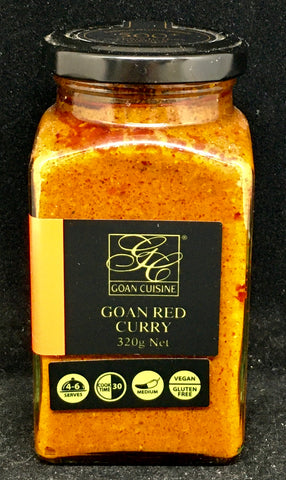 Goan Cuisine - Red Curry Paste