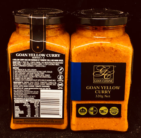 Goan Cuisine - Yellow Curry Paste