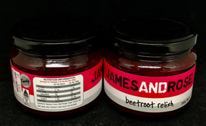 James and Rose Betroot Relish