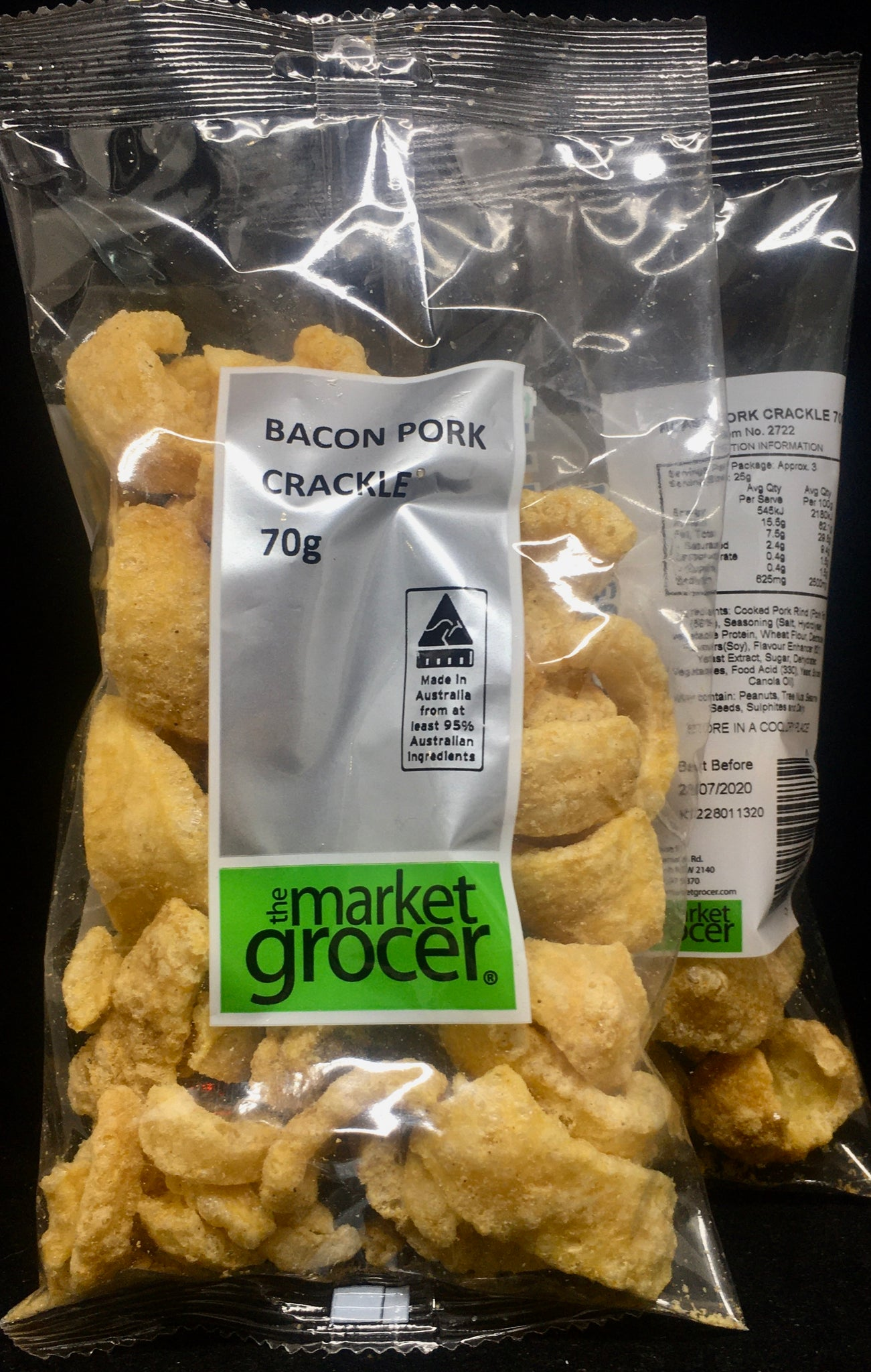 The Market Grocer - Bacon Pork Crackle