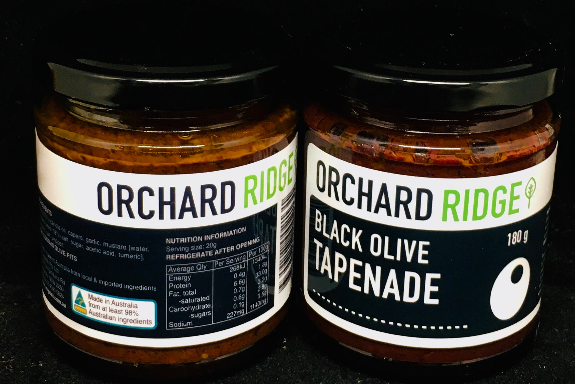 Orchard Ridge Black Olive Tapenade