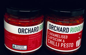 Orchard Ridge Caramelised Capsicum & Chilli Pesto