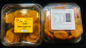 Smelly's Own - Dried Apricots