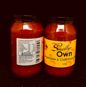 Smelly's Own - Vegetable and Chilli Pasta Sauce