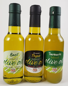 Key West Collection Spices Thyme Oil Basil Olive Oil Organic Turmeric Oil No pesticides or preservatives all natural
