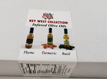 Load image into Gallery viewer, Key West Collection Spices Thyme Oil Basil Olive Oil Organic Turmeric Oil No pesticides or preservatives all natural