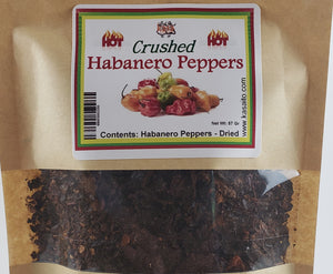Habanero Chili Peppers Dried and Crushed enhanced flavor spicy hot