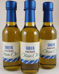 Greek Herb Infused Olive Oil Oregano Basil Thyme