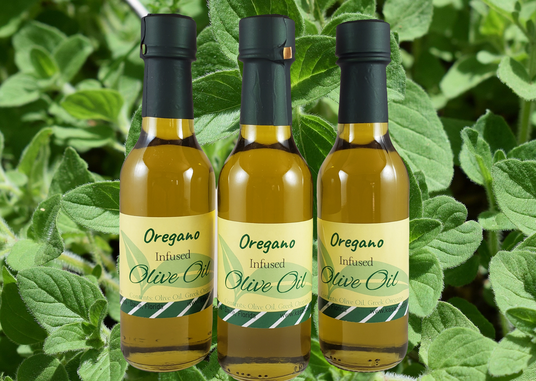 Oregano Infused Olive Oil - Real Greek  Mediterranean flavor!