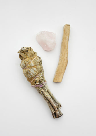 Rose Quartz Crystal Starter kit