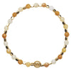 Jade Shades of Yellow Healing Bracelet