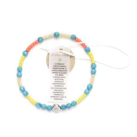 On-Line Exclusive : Tribal Gypsy Positivity Pack of 8 bracelets