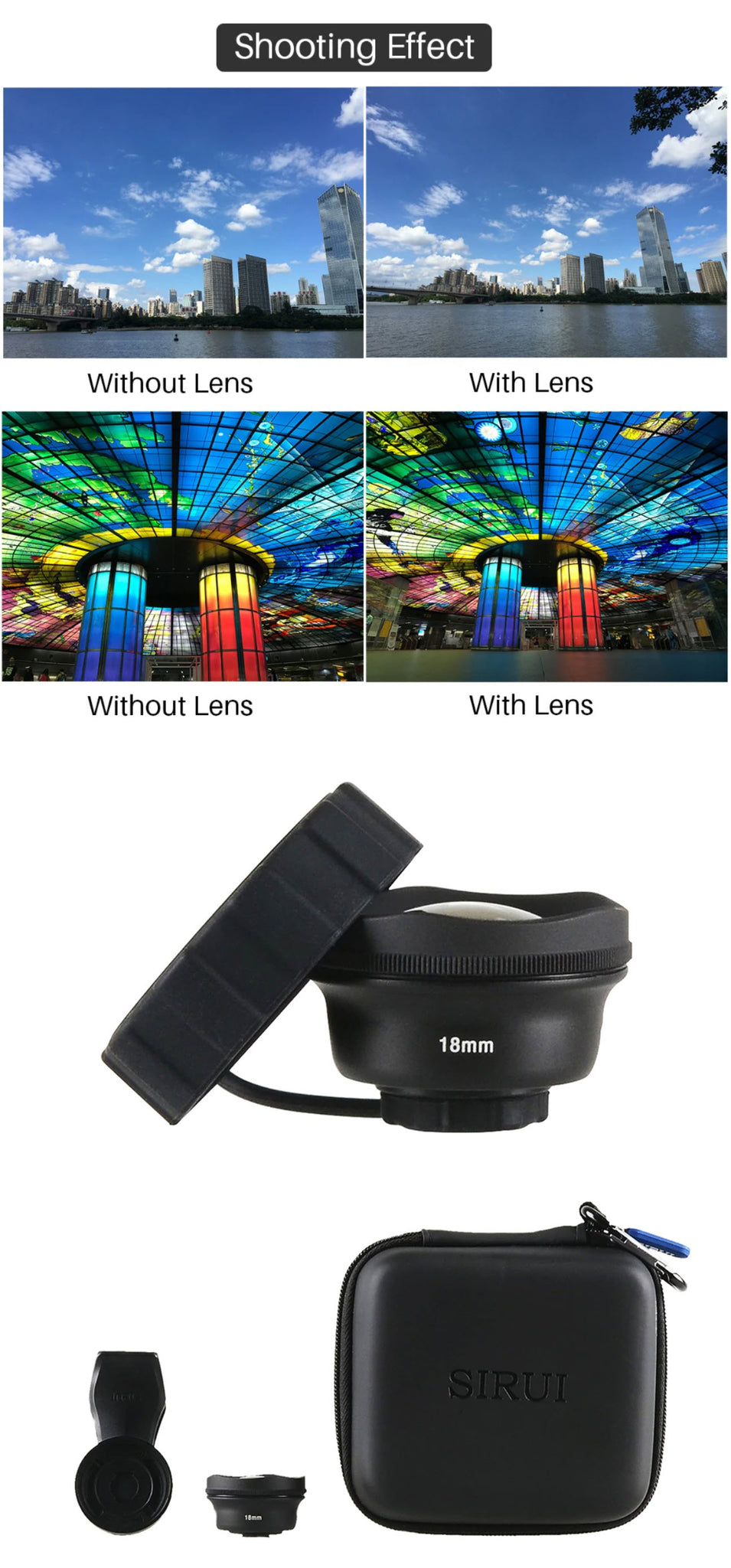 Wide Angle 10X Macro Phone Lens Shooting Effect Product Images