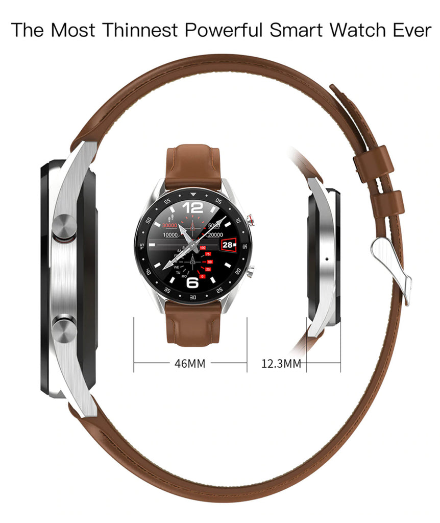 Teclast L7 Smartwatch Size and Dimensions
