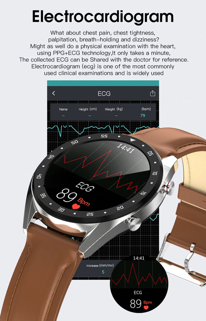 Teclast L7 Electrocardiogram Functionality
