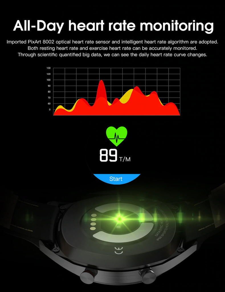 Teclast L7 All Day Heart Rate Monitoring