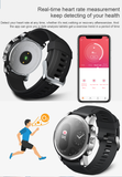 Stylish and Modern Torntisc Dual Display Fitness Smartwatch IP68 Waterproof Heart Rate Blood Pressure Monitor for Android and iOS - FuegoGear │ The Hottest Deals