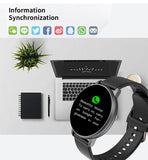 Chycet Full Touch Smartwatch Blood Pressure Monitor and Waterproof Sports Tracker for Android and iOS - FuegoGear │ The Hottest Deals