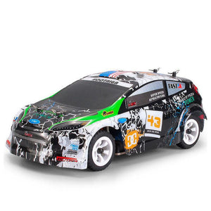 Kuulee K989 1/28 4WD Brushed RC Remote Control Rally Car RTR with Transmitter Explosion-proof Racing Car Toy - FuegoGear │ The Hottest Deals