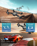 Visuo XS809W and XS809HW Mini Quadcopter Foldable Selfie Drone with Wifi FPV 0.3MP/2MP Camera Altitude Hold - FuegoGear │ The Hottest Deals