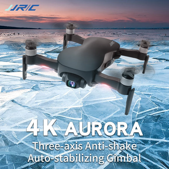 JJRC X12 GPS Drone with WiFi FPV 4K Aurora HD Camera Brushless Motor Foldable Quadcopter Anti-shake 3 Axis Gimble Drones Vs H117s SG906 - FuegoGear │ The Hottest Deals
