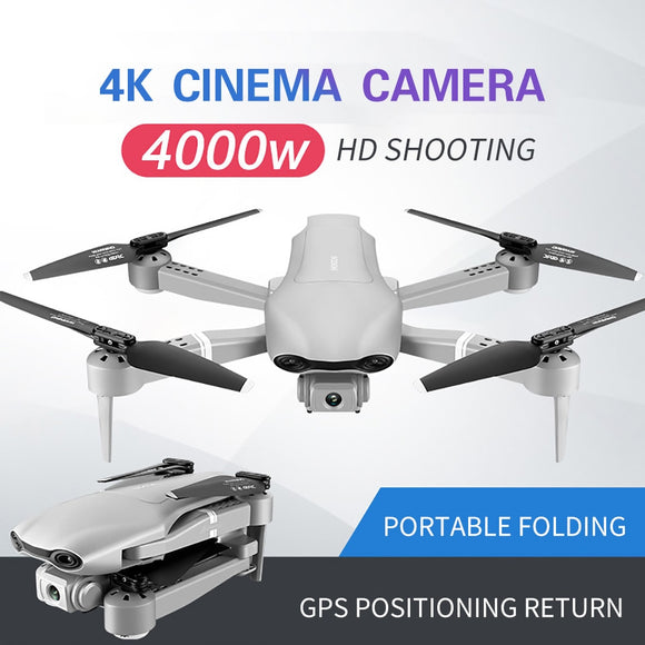 4DRC F3 GPS Drone 4K 5G WiFi Live Video FPV Quadrotor Flight 25 minutes RC Distance 500m Drone HD Wide-Angle Dual Camera - FuegoGear │ The Hottest Deals