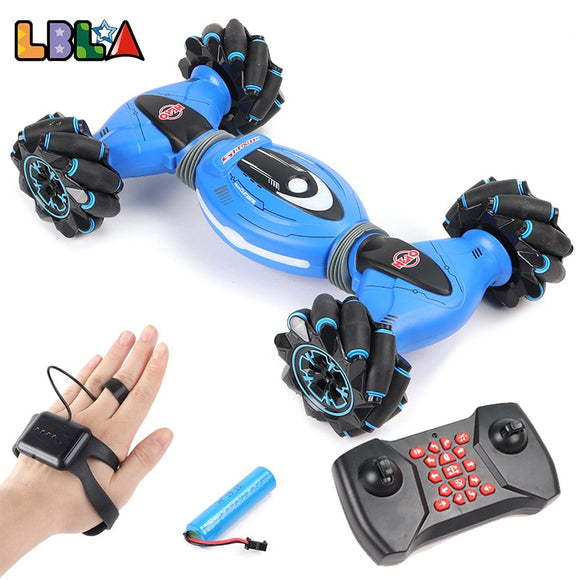 LBLA Gesture Induction Remote Control Stunt RC Car 4WD Twisting Off-Road Vehicle Light Music Drift Dancing Driving Toy - FuegoGear │ The Hottest Deals