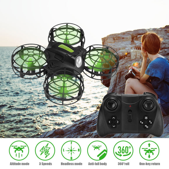 AHOHA WIFI RC Drone Camera HD 1080P Mini Quadcopter Altitude Hold with Headless Mode 2.4G for Kids - FuegoGear │ The Hottest Deals