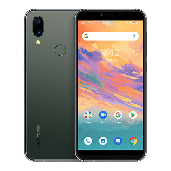 UMIDIGI A3S Smartphone with Android 10, Global Band, 3950mAh, Dual Rear Camera,  5.7
