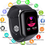 Shinsklly Square1 Smartwatch Waterproof Blood Pressure and Heart Rate Monitor with Sleep Tracker for Android and iOS - FuegoGear │ The Hottest Deals