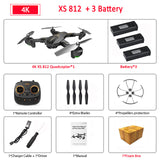 VISUO XS812 Foldable RC Drone GPS 5G WiFi FPV with 4K FHD Camera 15mins Flight Time Quadcopter - FuegoGear │ The Hottest Deals