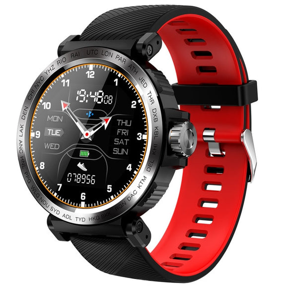 Sporty SENBONO Sport Smartwatch IP68 Waterproof Screen Touch Fitness Tracker for iOS and Android - FuegoGear │ The Hottest Deals