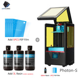 ANYCUBIC Photon-S 3D Printer with Dual Z Axis, Quick Slice 405nm Matrix UV Module, SLA 3d Printer Resin, PhotonS Upgraded, and Impresora 3d - FuegoGear │ The Hottest Deals