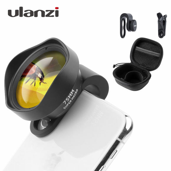 Ulanzi 10X 75MM Super Macro Phone Camera Lens
