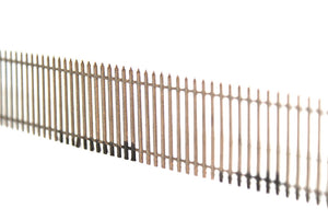 Laser Cut Tall Spiked Security Fencing OO or HO