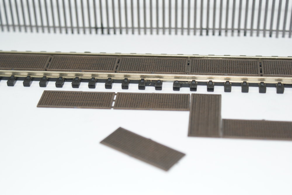 OO / HO Trackside Tread Walkway Kit Laser Cut
