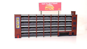 Semi Low Relief N Gauge Multi Story Car Park