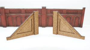 N Gauge Retaining Wall End Slopes for Style 4