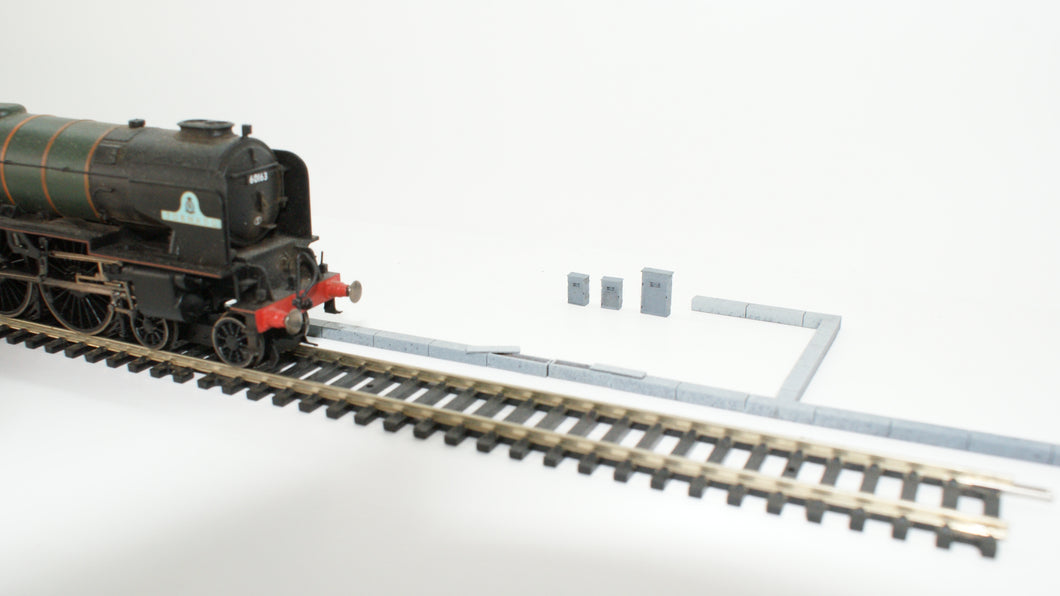 OO Gauge Laser Cut Cable Trunking
