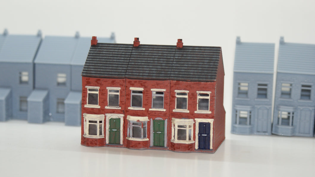 N Gauge Terraced House 3D Printed RIGHT DOOR