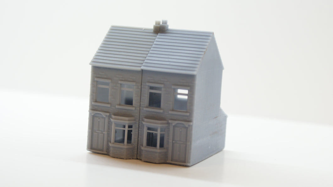 N Gauge Terraced House 3D Printed LEFT DOOR