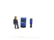 Load image into Gallery viewer, Ticket or Car Park Ticket Machines N Gauge