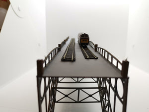 N Gauge Cast Iron Bridge