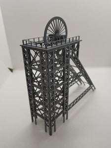N Gauge Colliery Pit Head Winding Gear
