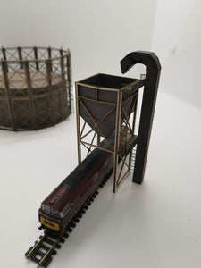 N Gauge Coaling Tower / Chute